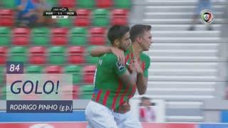 GOLO! Marítimo M., Rodrigo Pinho aos 84', Marítimo M. 1-1 Moreirense FC