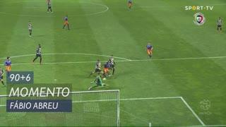 Moreirense FC, Jogada, Fábio Abreu aos 90