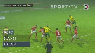 FC P.Ferreira, Caso, L. Diaby aos 90'+3'