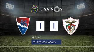 Liga NOS (24ªJ): Resumo Gil Vicente FC 1-1 Santa Clara