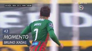 Marítimo M., Jogada, Bruno Xadas aos 43'
