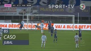 Vitória FC, Caso, Jubal aos 85'