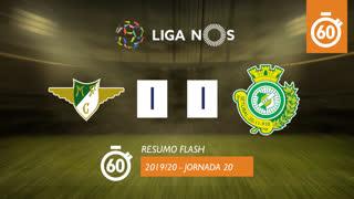 Liga NOS (20ªJ): Resumo Flash Moreirense FC 1-1 Vitória FC