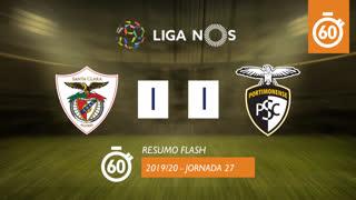 Liga NOS (27ªJ): Resumo Flash Santa Clara 1-1 Portimonense