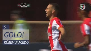GOLO! CD Aves, Rúben Macedo aos 5', CD Aves 1-0 Marítimo M.