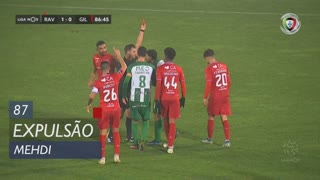 Rio Ave FC, Expulsão, Mehdi aos 87'