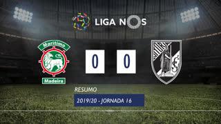 Liga NOS (16ªJ): Resumo Marítimo M. 0-0 Vitória SC