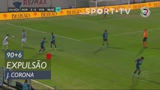 FC Porto, Expulsão, J. Corona aos 90'+6'