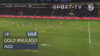SL Benfica, Golo Anulado, Pizzi aos 18'