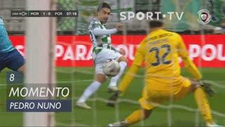 Moreirense FC, Jogada, Pedro Nuno aos 8'