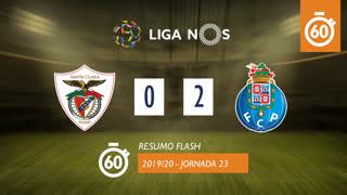 Liga NOS (23ªJ): Resumo Flash Santa Clara 0-2 FC Porto
