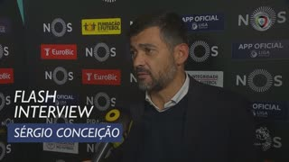 Liga (11ª): Flash Interview Sérgio Conceição