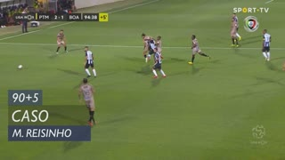 Boavista FC, Caso, Miguel Reisinho aos 90'+5'