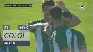 GOLO! Rio Ave FC, Mehdi aos 23', Rio Ave FC 1-0 Santa Clara