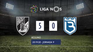 Liga NOS (9ªJ): Resumo Vitória SC 5-0 Belenenses SAD