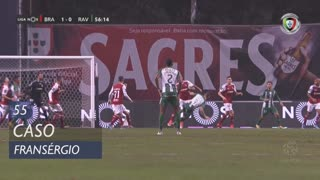 SC Braga, Caso, Fransérgio aos 55'