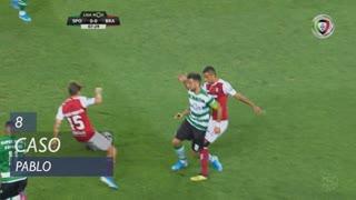 SC Braga, Caso, Pablo aos 8'