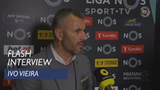 Liga (21ª): Flash Interview Ivo Vieira