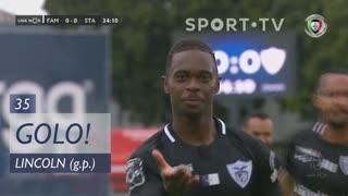 GOLO! Santa Clara, Lincoln aos 35', FC Famalicão 0-1 Santa Clara