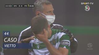 Sporting CP, Caso, Vietto aos 44'