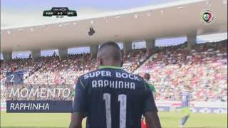 Sporting CP, Jogada, Raphinha aos 2'