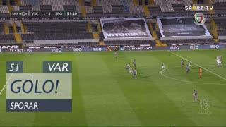 GOLO! Sporting CP, Sporar aos 51', Vitória SC 1-2 Sporting CP