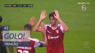 GOLO! SC Braga, Trincão aos 42', SC Braga 2-2 Vitória SC