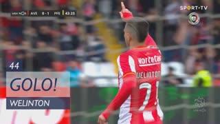 GOLO! CD Aves, Welinton aos 44', CD Aves 1-1 FC P.Ferreira