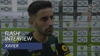 Liga (8ª): Flash Interview Xavier