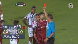 SC Braga, Expulsão, Fransérgio aos 90'+1'