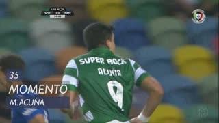 Sporting CP, Jogada, M. Acuña aos 35'