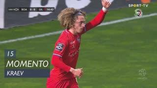 Gil Vicente FC, Jogada, Kraev aos 15'