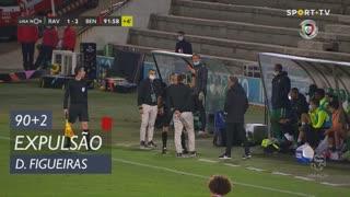 Rio Ave FC, Expulsão, Diogo Figueiras aos 90'+2'