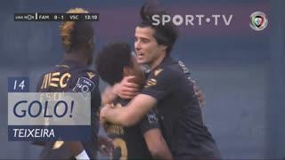 GOLO! Vitória SC, Teixeira aos 14', FC Famalicão 0-2 Vitória SC