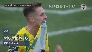 CD Tondela, Jogada, Richard aos 44'