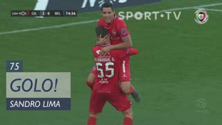 GOLO! Gil Vicente FC, Sandro Lima aos 75', Gil Vicente FC 2-0 Belenenses SAD