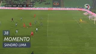 Gil Vicente FC, Jogada, Sandro Lima aos 38'