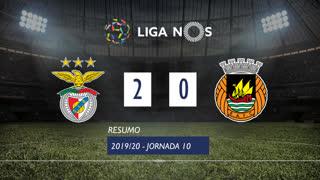 Liga NOS (10ªJ): Resumo SL Benfica 2-0 Rio Ave FC