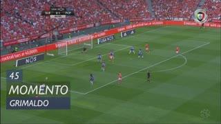 SL Benfica, Jogada, Grimaldo aos 45'