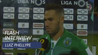 Liga (14ª): Flash Interview Luiz Phellype