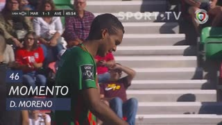 Marítimo M., Jogada, D. Moreno aos 46'