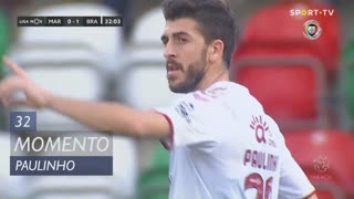 SC Braga, Jogada, Paulinho aos 32'