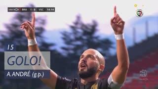 GOLO! Vitória SC, André André aos 15', SC Braga 1-1 Vitória SC