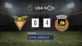 Liga NOS (20ªJ): Resumo CD Aves 0-4 Rio Ave FC