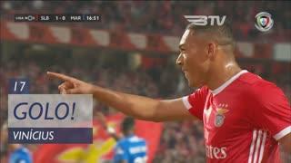 GOLO! SL Benfica, Vinícius aos 17', SL Benfica 2-0 Marítimo M.