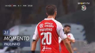 SC Braga, Jogada, Paulinho aos 31'