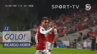 GOLO! SC Braga, Ricardo Horta aos 12', SC Braga 1-0 Gil Vicente FC
