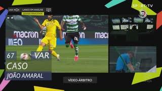FC P.Ferreira, Caso, João Amaral aos 67'
