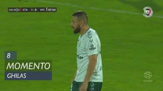 Vitória FC, Jogada, Ghilas aos 8'