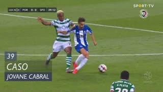Sporting CP, Caso, Jovane Cabral aos 39'